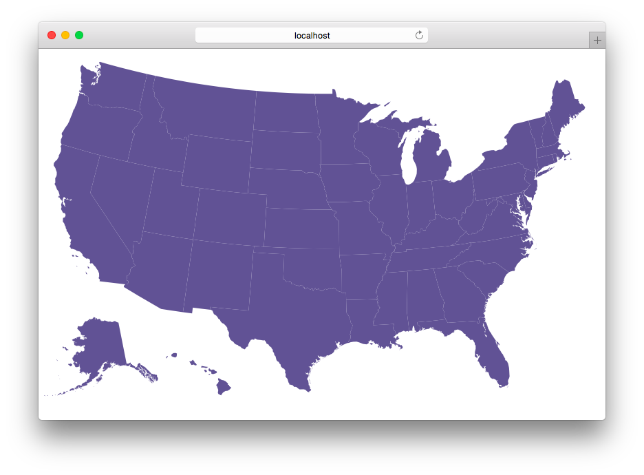 README - D3 us states map